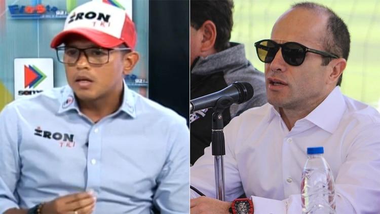 Humberto Vivanco y Mariano Díaz Ramírez