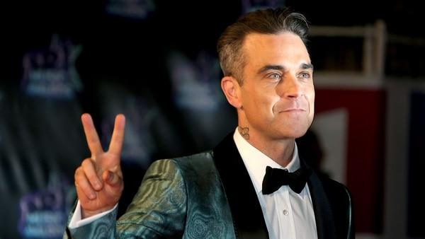 Robbie Williams fue hospitalizado en septiembre del 2017 por una anormalidad en el cerebro