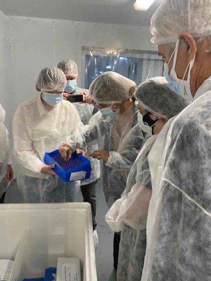 Las primeras vacunas realizadas en la Argentina
