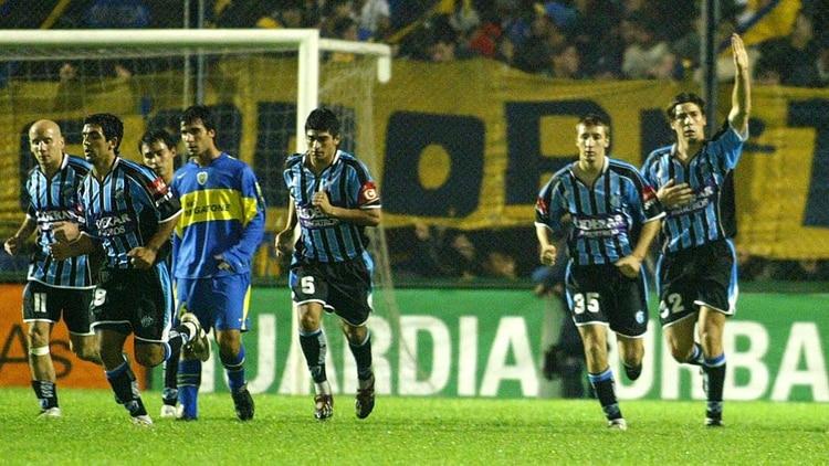 Almagro 3 Boca 2 (suspendido) por el Clausura 2005 (Fotobaires)