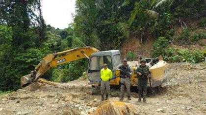 Actualmente autoridades tienen información de que las ganancias que deja la minería ilegal son mayores que la de los cultivos ilícitos.