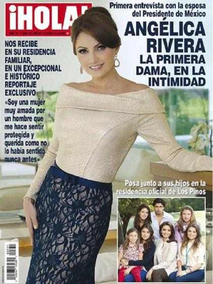 La investigación surgió a raíz de la entrevista de La Gaviota con la revista Hola (Foto: Instagram @angelicariverahurtado)