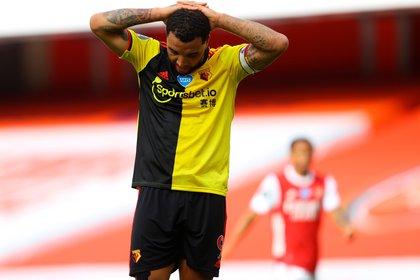 El Watford descendió al caer contra el Arsenal - EFE/EPA/Julian Finney/NMC
