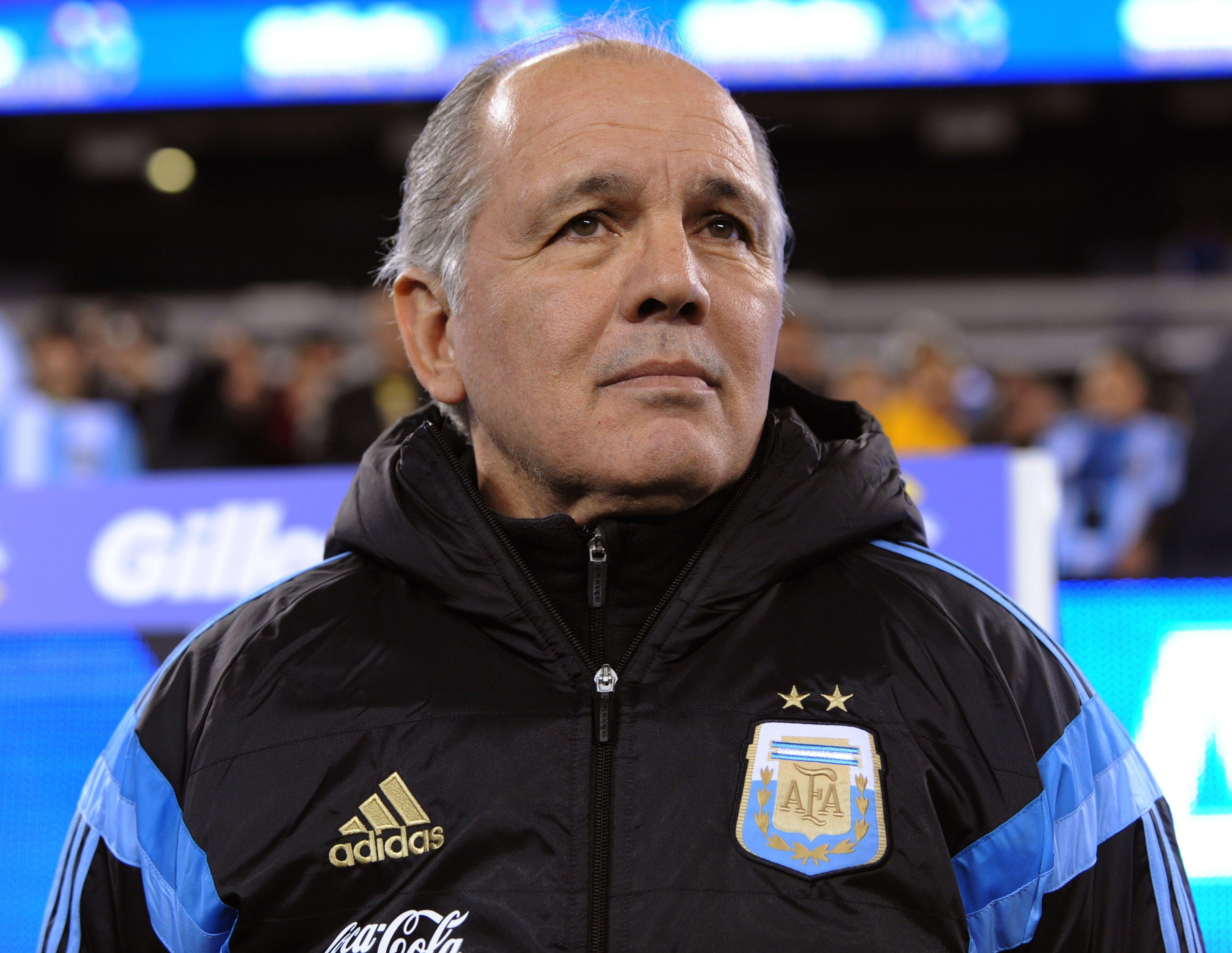 Sabella, hombre ponderado por todo el fútbol argentino (EFE/EPA/PETER FOLEY)