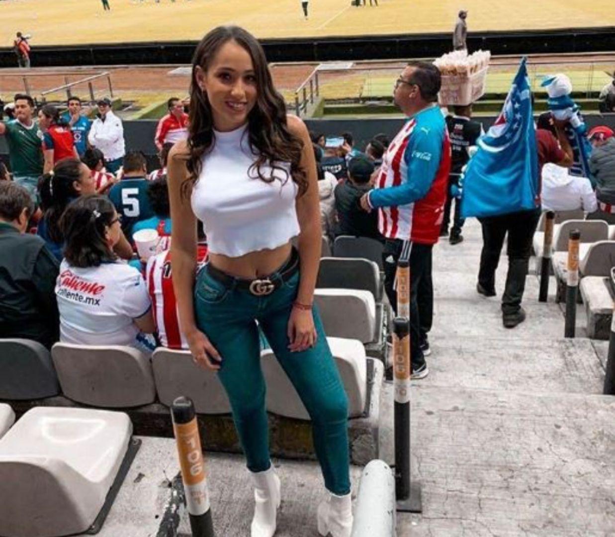 Keyla Caputo estuvo presente en los duelos por fecha FIFA de la Selección Mexicana de Futbol (Foto: Instagram)