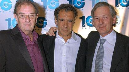 Alfredo Serra, Daniel Hadad y Marcelo Longobardi
