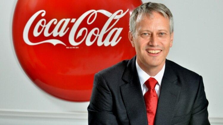James Quincey, presidente de Coca Cola
