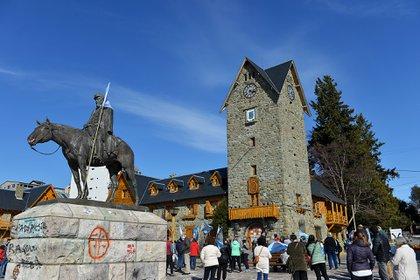 El hecho conmocionó a la ciudad de Bariloche.