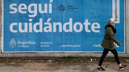 Postal de la cuarentena obligatoria en Zona Norte, provincia de Buenos Aires (Foto: Franco Fafasuli)