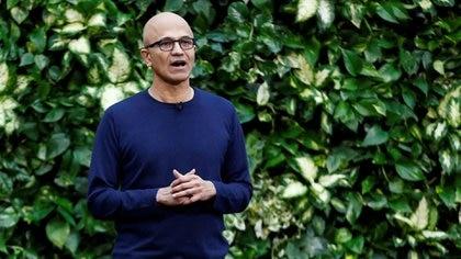 Satya Nadella, CEO de Microsoft (Reuters)
