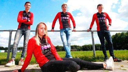 La joven de 19 años formará parte de la Categoría A la próxima temporada