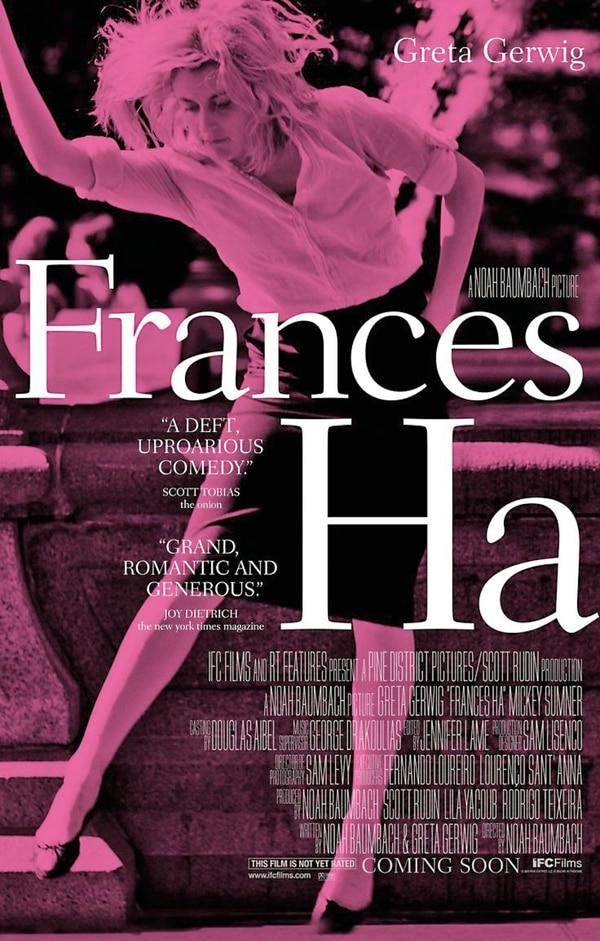 Frances Ha, película que protagonizó y coescribió, la consagró como ícono de actriz indie y diferente