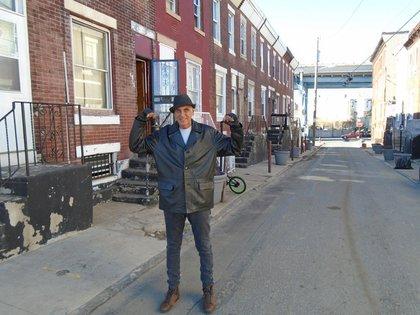 Tusculum Street, en Filadelfia.¿Les suena? Rocky I se estrenó en Argentina en enero de 1977