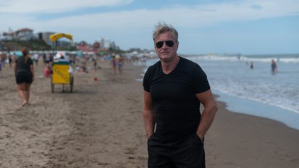 El empresario vive en Capital Federal pero cada año se instala durante dos meses en Pinamar