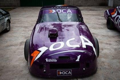 Ford Falcon con el cual obtuvo el campeonato de 1999 en el TC. Fue su último título en la categoría.(Fede Asenjo)