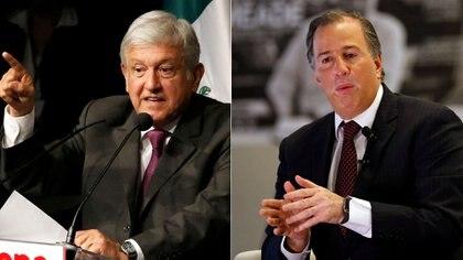 Andrés Manuel López Obrador y José Antonio Meade son los dos principales candidatos lanzados a la presidencia para las elecciones de 2018 (Reuters)