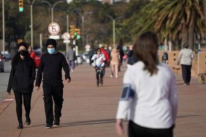 Las autoridades de Uruguay preparan una batería de medidas para hacer frente a la pandemia (REUTERS)