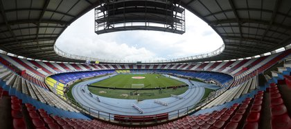 BARRANQUILLA. 13 de noviembre de 2020. La inversión que se está haciendo en los estadios colombianos es de 12.500 millones de pesos. (Cortesía: FCF).