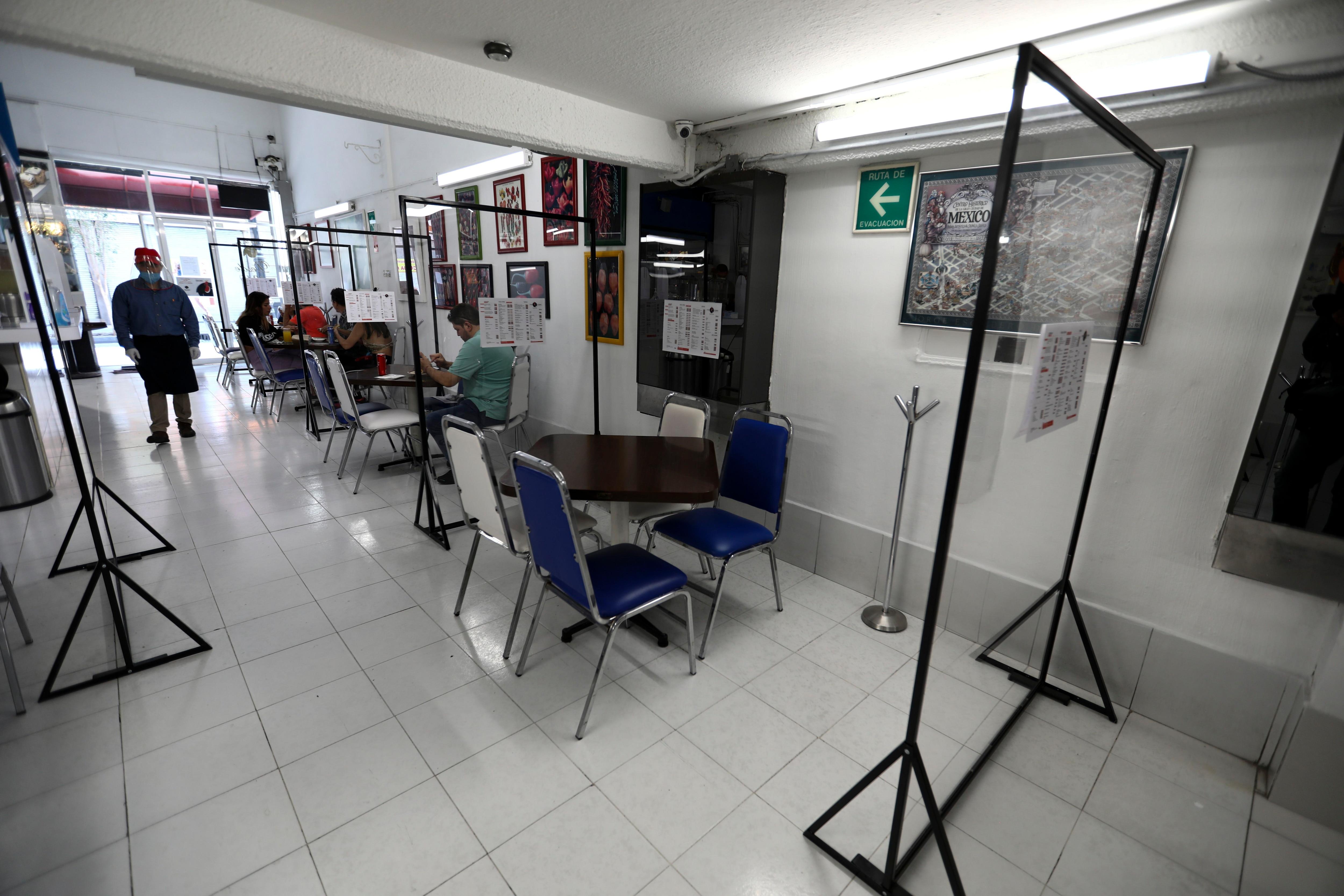 Mexico - nueva normalidad - centro historico - mexico - restaurantes - reapertura