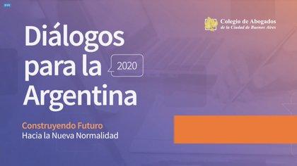 La conferencia convocada por el Colegio de Abogados de la Ciudad de Buenos Aires