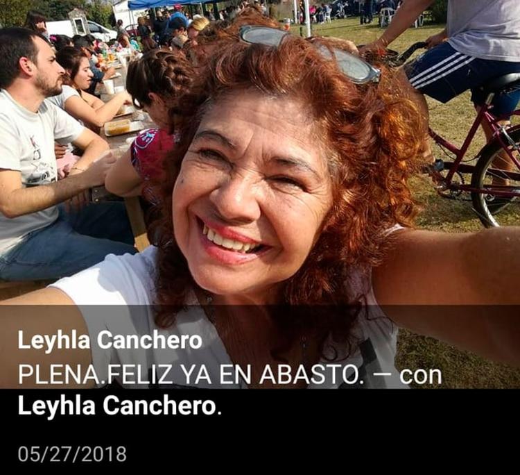 Miriam Edith Canchero, una de las apuntadas