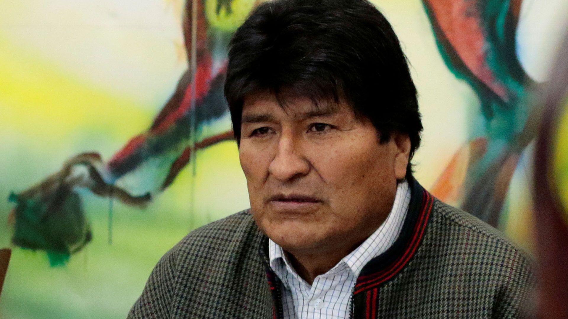 Evo Morales (REUTERS/Manuel Claure)