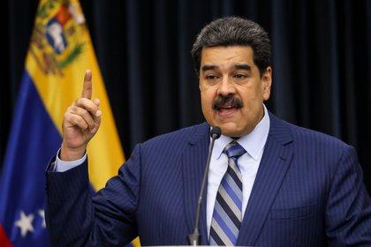 En la imagen, el presidente venezolano, Nicolás Maduro (EFE/Cristian Hernández/Archivo)