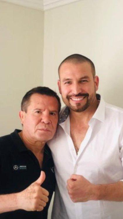 Julio César Chavez habló de algunas detalles en el tratamiento del actor (Foto: Instagram de Myriam Escobar)