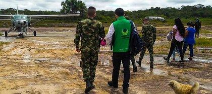 Dos niñas de 12 y 14 años en Amazonas que estaban en amenaza por reclutamiento forzado fueron rescatas por el Ejército a principios de junio.