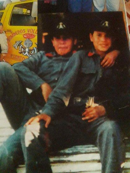 Mauricio Arcajo y Cristian Zárate. Tenían 12 y 14 años. Los llevaron al medio de un incendio rural. Ambos murieron. Fue una decisión criminal
