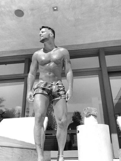 Ricky Martin posteó esta imagen y volvió loco a sus fans.