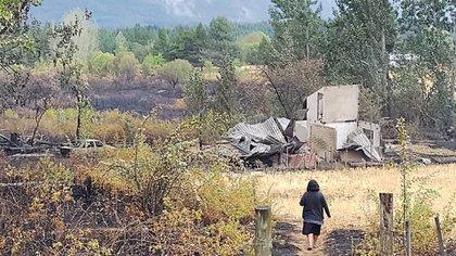 Juan Szczesny - incendio