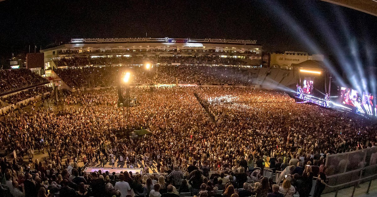 The largest concert in the world since the outbreak of the pandemic: 50 thousand people enjoyed a show in New Zealand
