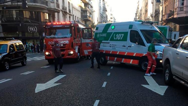 Las ambulancias del SAME están en todos los operativos de emergencia de la Ciudad de Buenos Aires