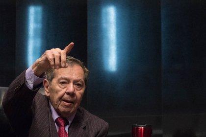 Porfirio Muñoz Ledo criticó la campaña de Mario Delgado (Foto: Cuartoscuro)