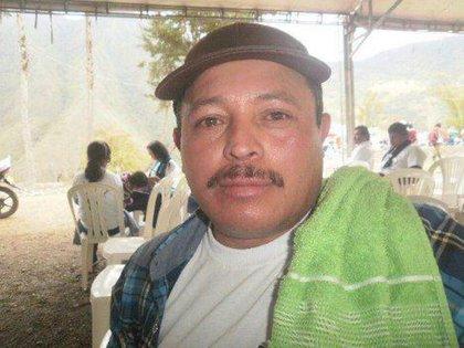 El ex guerrillero de las FARC Wilson Saavedra