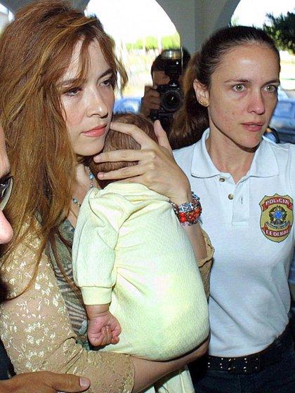 Trevi fue extraditada a México. Durante sus días en la prisión brasileña quedó embarazada y dio a luz a un niño (NA)