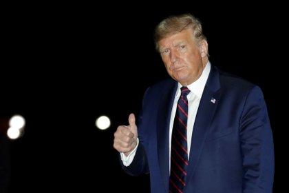 El presidente de EE.UU., Donald J. Trump