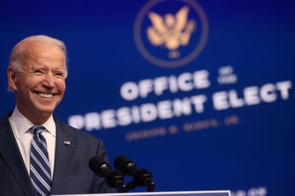 El presidente electo Joe Biden (REUTERS/Jonathan Ernst)
