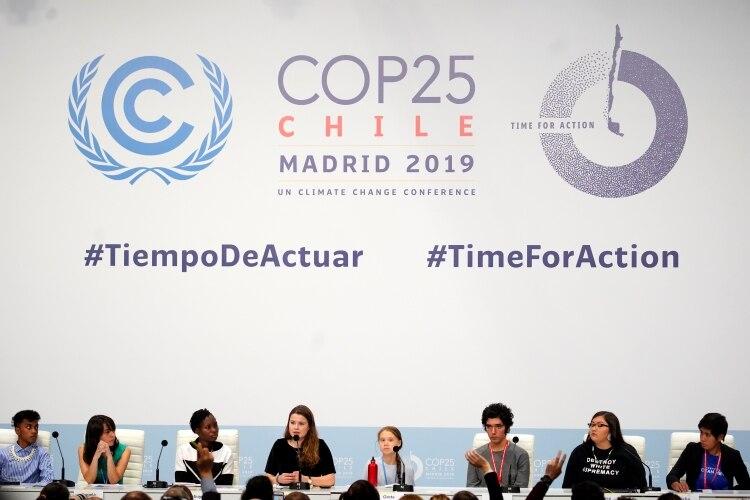 """GCO2IVXVGVDEFCFXCEDBC27VWA - """"La emergencia climática no es un problema futuro, ya nos impacta"""":Greta Thunberg."""