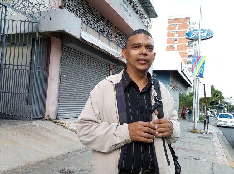 """Abogado Emilio Negrón: """"En Venezuela no hay justicia independiente"""" (Foto: Elizabeth Ostos)"""