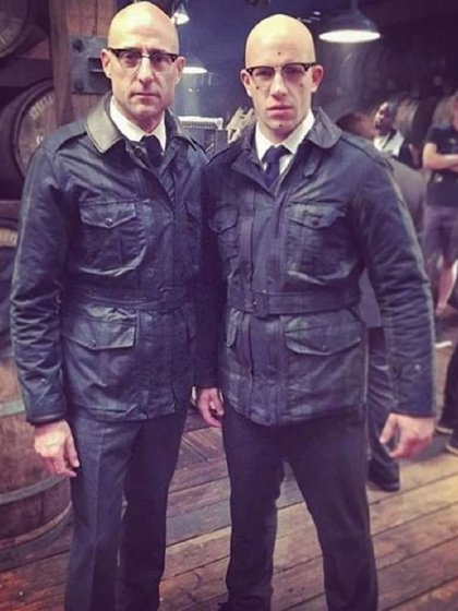 Joe Watts (derecha) es un actor de escenas de riesgo con gran experiencia (Foto: especial)