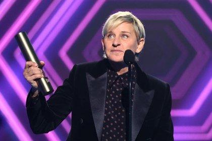 Ellen DeGeneres se mostró feliz por la distinción a su talk show pese a los problemas recientes (Foto: Instagram @ellend_world  Christopher Polk/E! Entertainment/NBCU)