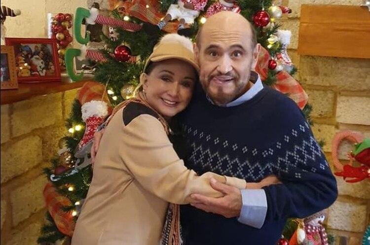 María Antonieta de las Nieves y Edgar Vivar son amigos desde hace más de cinco décadas (Foto: Facebook oficial de La Chilindrina)