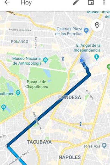 Para hallar tu mapa debes ingresar desde cualquiera de tus dispositivos (Foto: Google Maps)