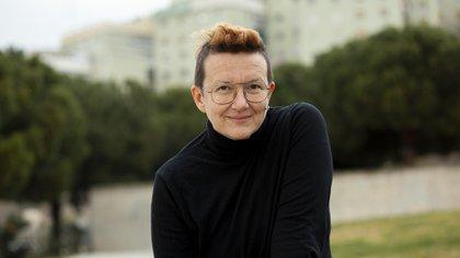 """Brigitte Vasallo, activista LGBTQI y feminista española autora de """"El desafío poliamoroso. Por una nueva política de los afectos (Paidós)"""" (Marina Freixa Roca)"""