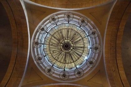 Una de las cúpulas de la catedral antes del bombardeo (Flickr/Tamar Naz)