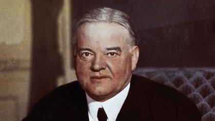 Herbert Hoover, un altro milionario Uomo d'affari che ha saltato in politica e è venuto alla presidenza statunitense