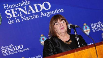 La presidenta de Cilsa recibió el reconocimiento de Personalidad Destacada de los Derechos Humanos en el honorable senado de la Nación