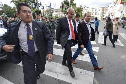 Parlamento de Bolivia censura a ministro de Gobierno